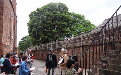 1チェスターの城壁400