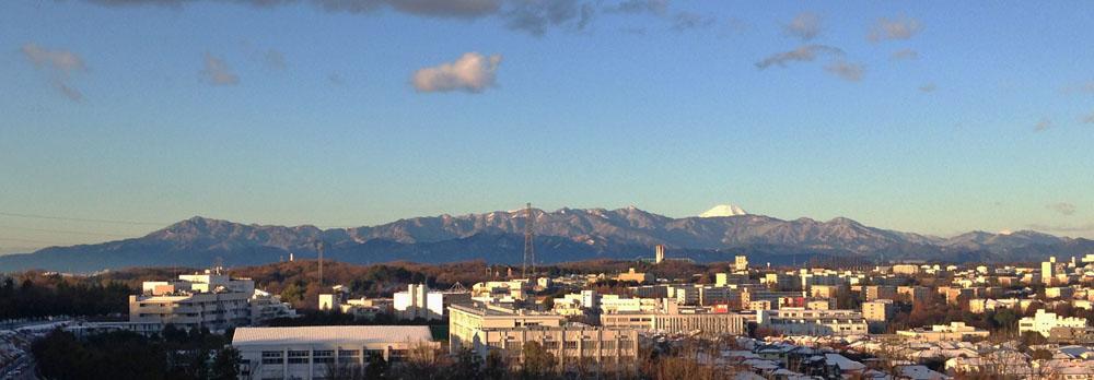 丹沢山系と富士山270131