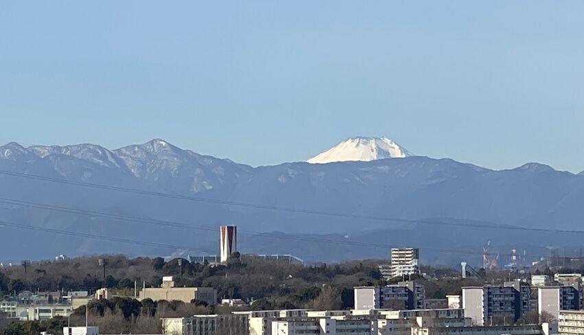 富士山と蛭が岳850