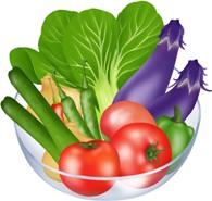 歯科と野菜