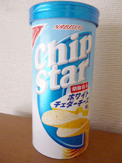 チップスター<胡椒香るホワイトチェダーチーズ味>