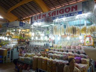 ベトナム旅行:ベンタン市場