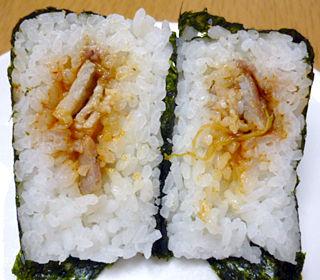 韓国海苔手巻豚カルビ焼肉