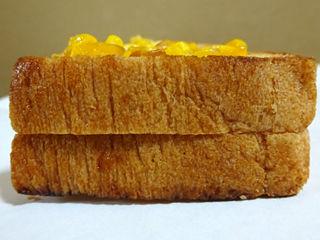 焼きとうもろこしトースト