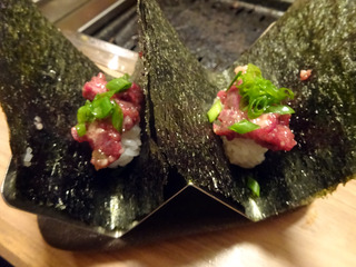 「焼肉寿司」