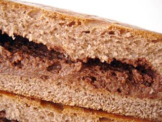 大人のチョコクリームパン