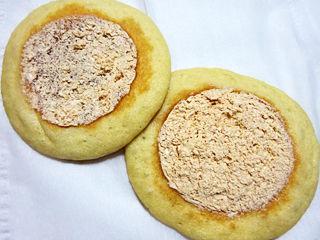 たっぷりホイップのパンケーキ<和栗ホイップ>