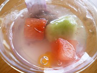 紅芋の涼味ぱふぇ&抹茶の夏あんみつ