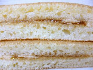 もっちーりパンケーキ<黒蜜&きなこ>