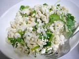 野菜とベーコンの蒸し鍋 サラダ