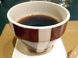 「西洋懐石 アンシャンテ」コーヒー