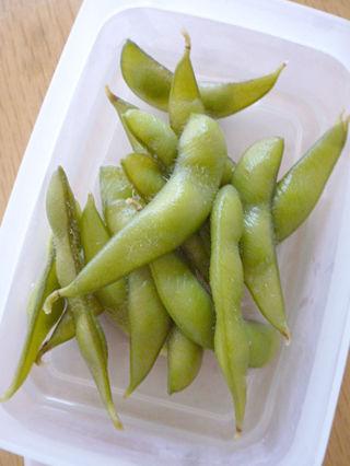 枝豆のお漬け物