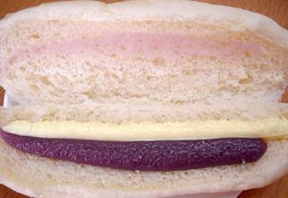 紫いも&マーガリンサンド