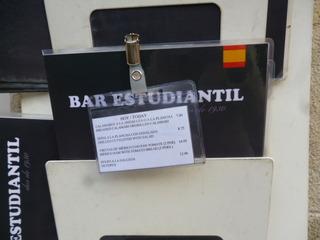 「BAR ESTUDIANTIL」