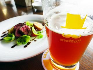 【歓送迎会特集】肉と燻製とクラフトビールで乾杯!「BEER HOUSE molto!!」