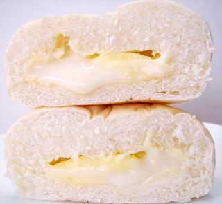 ふわふわパン<カスタード&豆乳クリーム>