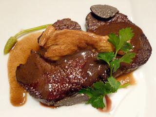 「西洋懐石 アンシャンテ」メイン肉