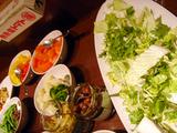 「SAGRA MARBLE TRE」野菜いろいろ
