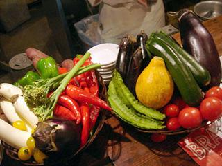 「スペインバル バレンシア」野菜