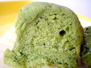 ふわもち蒸しケーキ<よもぎ>