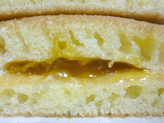 もちもちとしたパンケーキ<マンゴー