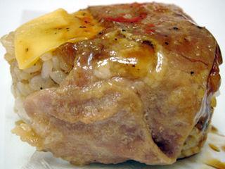 金芽米肉巻チェダーチーズ入り