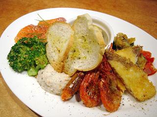 「魚deバールウオチカ」前菜