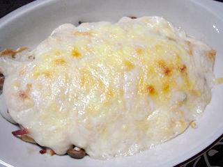 里芋ときのこの胡麻豆腐グラタン