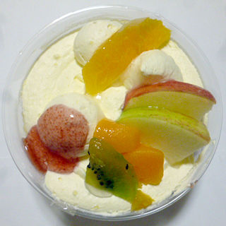 秋のフルーツレアチーズ