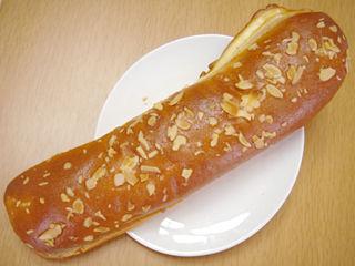 ロングアーモンドパン(マーガリンサンド)