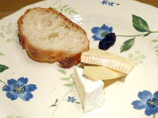 「西洋懐石 アンシャンテ」チーズ