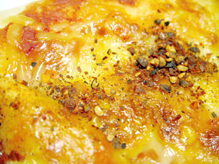 本格ナポリ風チーズピザ