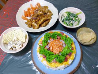 ひな祭りデコレーション寿司