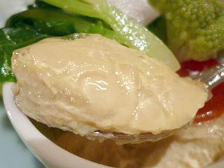 「西洋懐石 アンシャンテ」前菜フォアグラ
