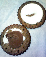 マクビティブラックチーズケーキ3