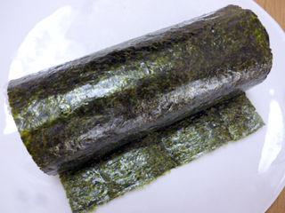 手巻寿司牛肉唐辛子マヨ