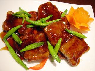 「Chinese Restaurant 都来」酢豚