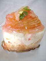 「パティスリーフランダース」ラ・フランスのショートケーキ