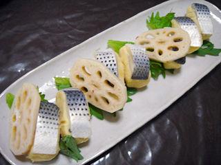 鯖の黄身寿司