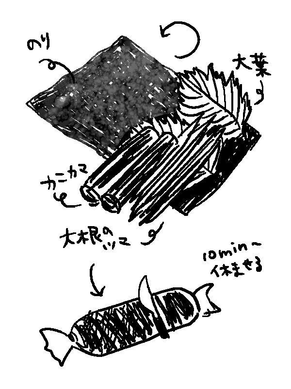 daikon-norimaki