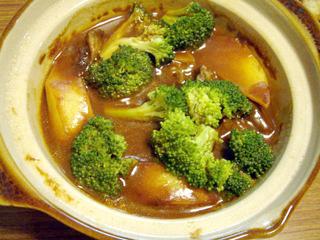 金時豆の天ぷら 牛すじシチュー