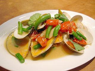 「魚deバールウオチカ」アクアパッツァ