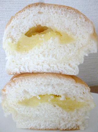りんごとお芋のクリームパン