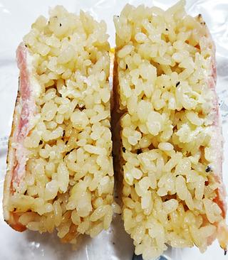 炙り焼ベーコンおむすび