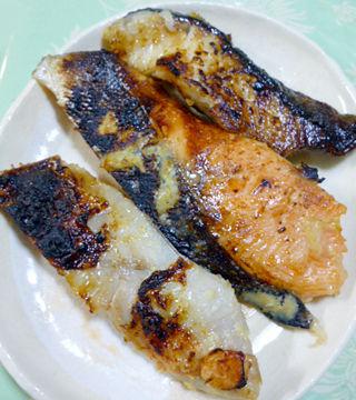 魚の味噌漬け