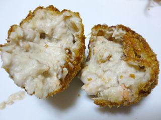 鮭の白子のクリームコロッケ