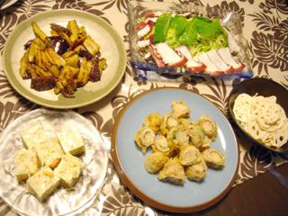 豚肉の新生姜巻き天ぷら