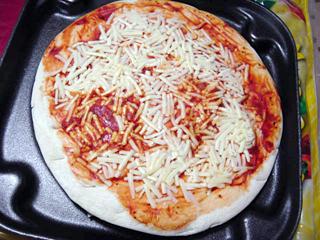 北海道モッツァレラチーズピザ