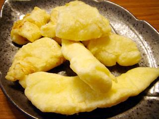 豆腐かば焼き 数の子天ぷら