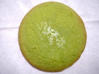 抹茶のしっとりクッキー